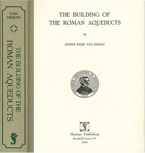 The building of the Roman aqueducts
