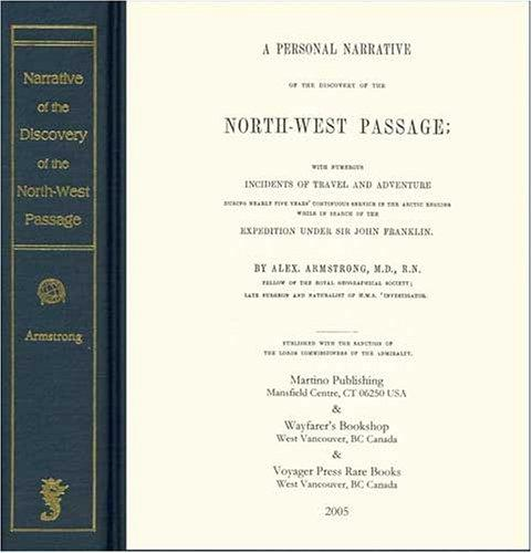 Download A personal narrative of the discovery of the North West passage