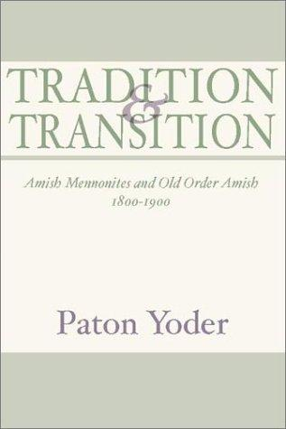 Download Tradition and Transition