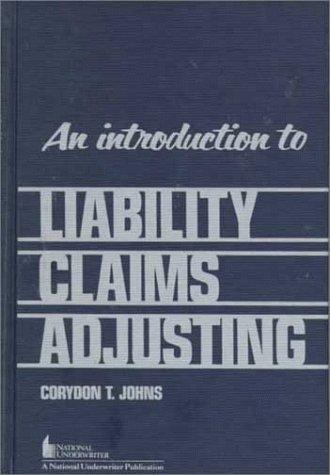Download An introduction to liability claims adjusting
