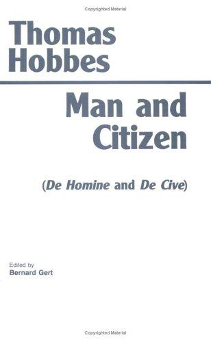 Man and citizen