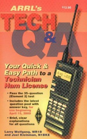 The ARRL's tech Q&A