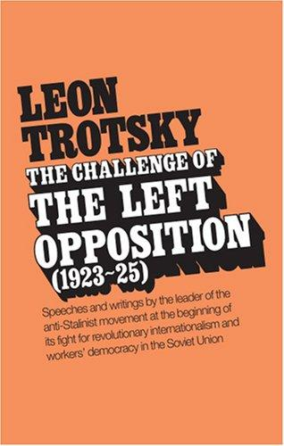 Challenge of the Left Opposition