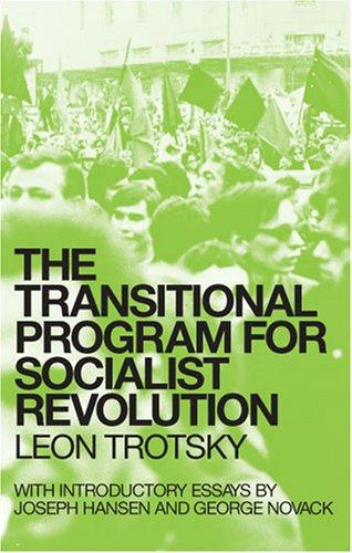 Download The transitional program for socialist revolution