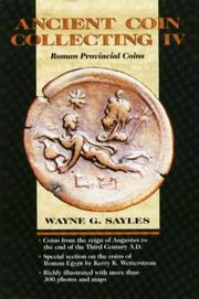 Ancient Coin Collecting IV: Roman Provincial Coins (v. 4) [Hardcover]