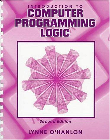 Download Introduction to Computer Programming Logic