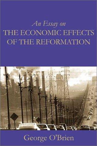 Download An essay on the economic effects of the reformation