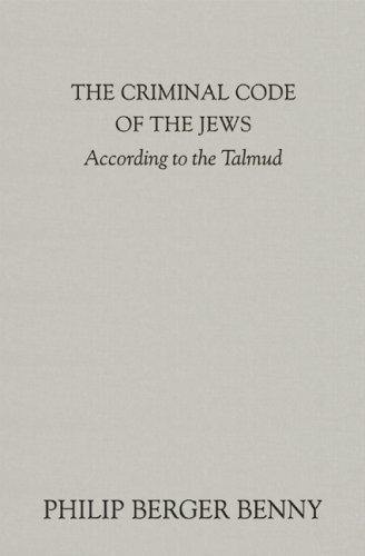 Download Criminal Code of the Jews