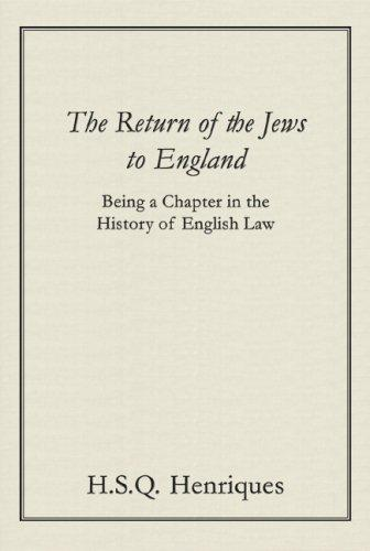 Download The return of the Jews to England