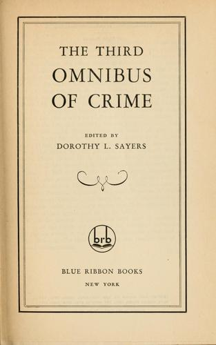 Download The third omnibus of crime