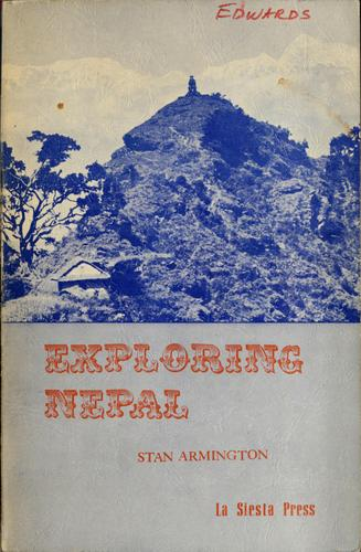 Image for Exploring Nepal: Trekking Guide Book