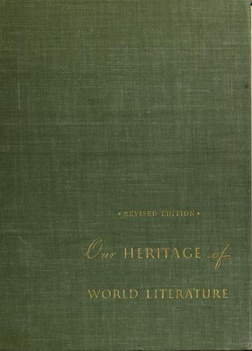Our heritage of world literature.