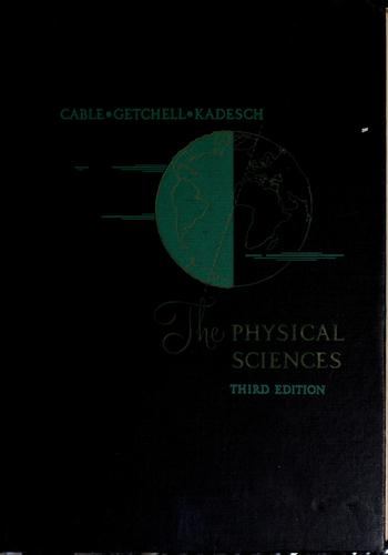Download The physical sciences