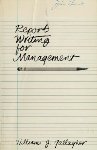 Download Report writing for management