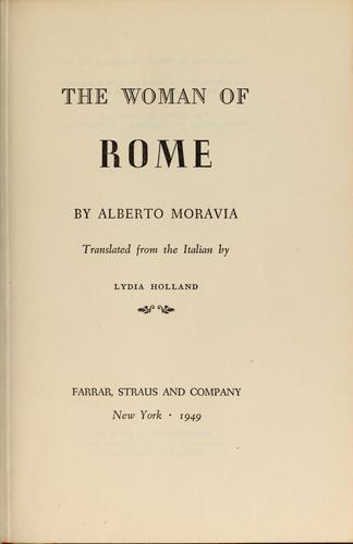Download The woman of Rome.