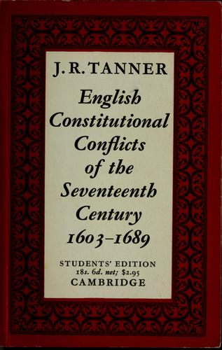 Download English constitutional conflicts of the seventeenth century, 1603-1689