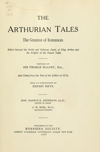 The Arthurian tales