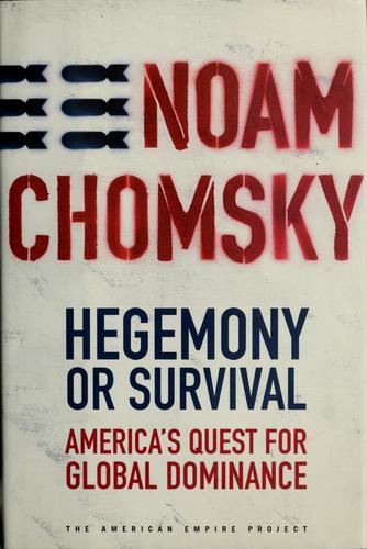 Download Hegemony or survival
