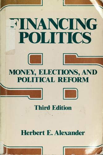 Financing politics