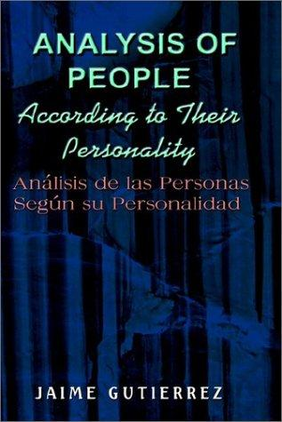 Download Analysis of People According to Their Personality