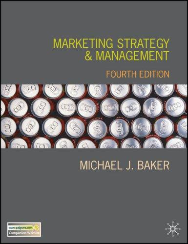 Download Marketing Strategy and Management