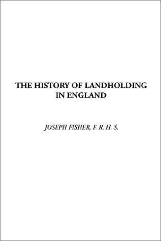 Download The History of Landholding in England