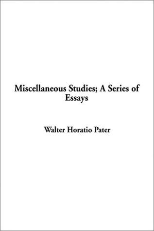 Download Miscellaneous Studies; A Series of Essays