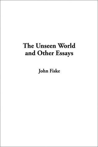 Download The Unseen World and Other Essays
