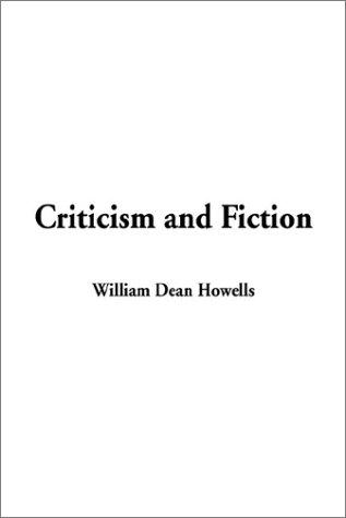 Download Criticism and Fiction