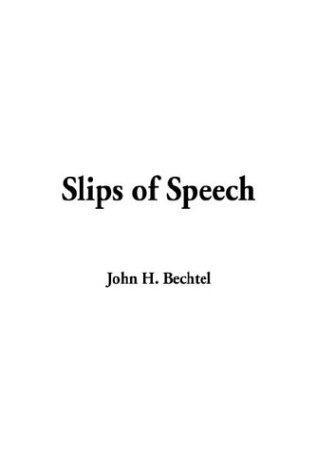 Download Slips of Speech