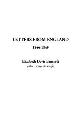 Download Letters from England 1846-1849