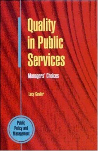 Download Quality in public services
