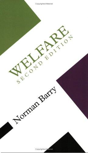 Download Welfare (Concepts in the Social Sciences)