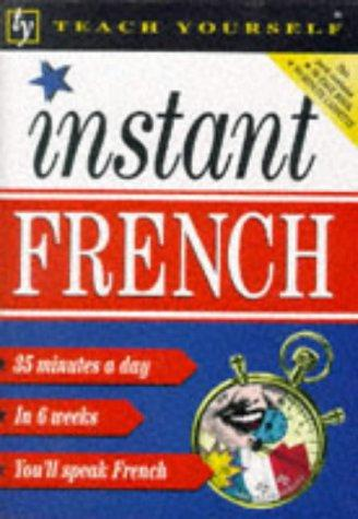 Download Instant French (Teach Yourself: Instant)