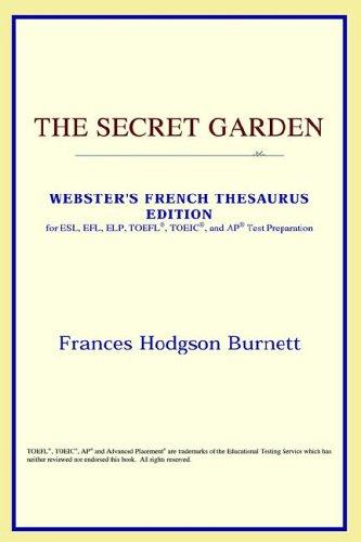 Download The Secret Garden (Webster's French Thesaurus Edition)