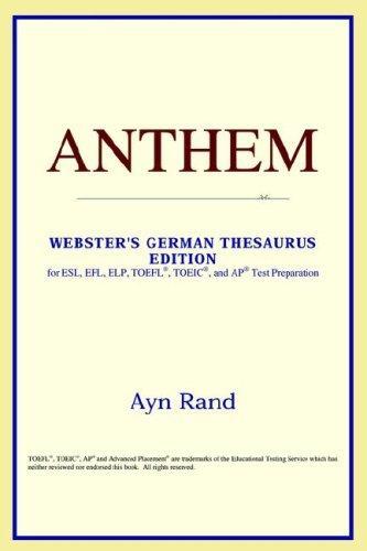 Anthem (Webster's German Thesaurus Edition)