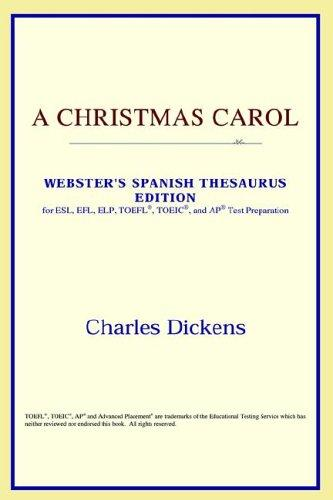 Download A Christmas Carol (Webster's Spanish Thesaurus Edition)