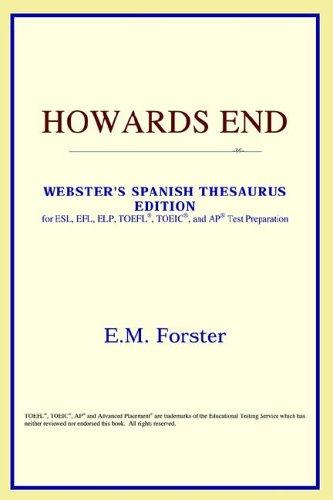 Howards End (Webster's Spanish Thesaurus Edition)