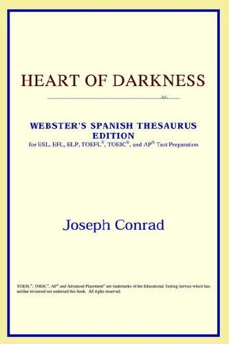 Download Heart of Darkness (Webster's Spanish Thesaurus Edition)