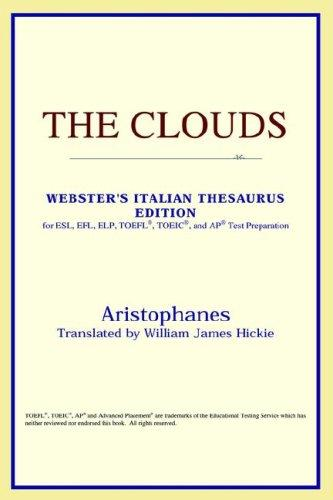 Download The Clouds (Webster's Italian Thesaurus Edition)