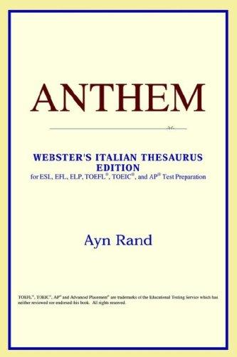 Anthem (Webster's Italian Thesaurus Edition)
