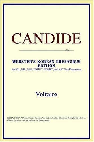 Download Candide (Webster's Korean Thesaurus Edition)
