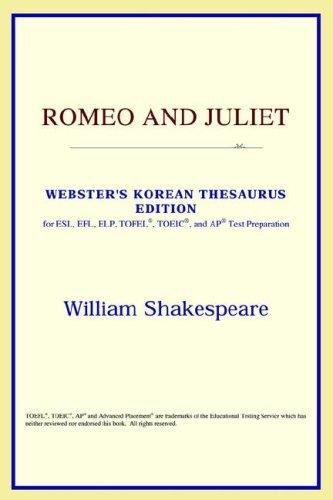 Romeo and Juliet (Webster's Korean Thesaurus Edition)