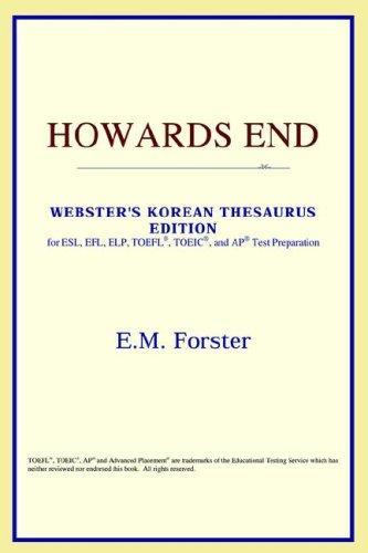 Download Howards End (Webster's Korean Thesaurus Edition)