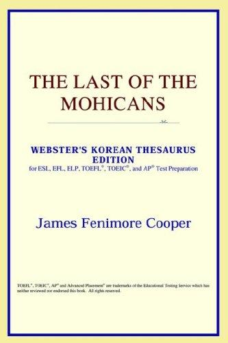 The Last of the Mohicans (Webster's Korean Thesaurus Edition)