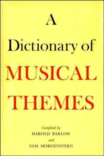 A  dictionary of musical themes
