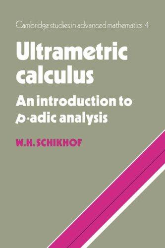 Ultrametric Calculus