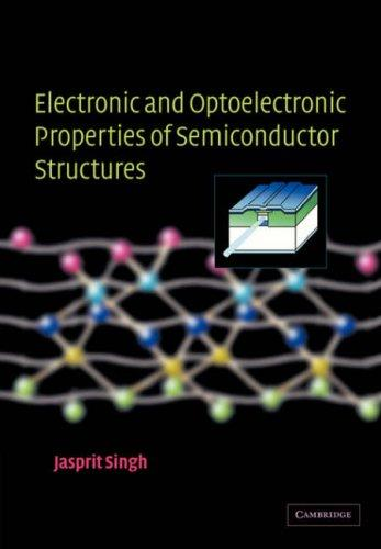 Electronic and Optoelectronic Properties of Semiconductor Structures