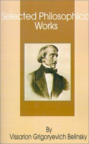 Selected Philosophical Works