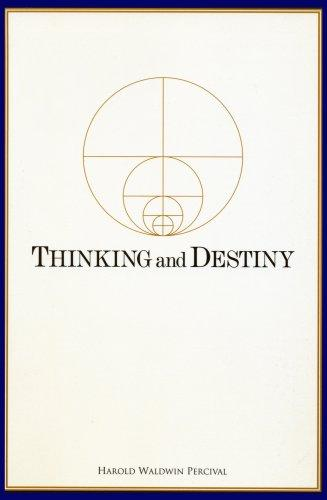 Download Thinking and Destiny